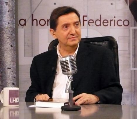 Journalisten Jiménez Losantos representerar den spanska extremhögern. Foto: FDV/Wikimedia Commons