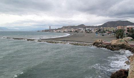 Flera av de drabbade är från La Cala del Moral (Málaga). Foto: Tyk/Wikimedia Commons