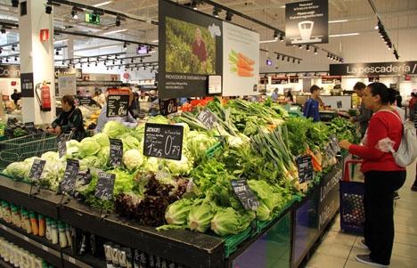 Till skillnad mot i september förra året steg livsmedelspriserna i år.