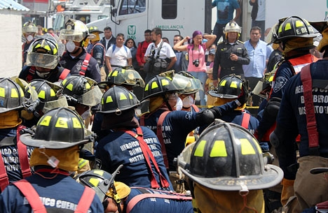 Det tog räddningspersonalen tio dagar att nå fram till 33-åringen under rasmassorna. Foto: ProtoplasmaKid/Wikimedia Commons