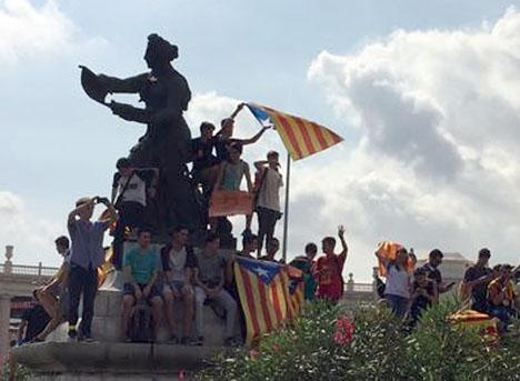 För femtielfte gången befinner sig den katalanska konflikten i en ödessituation. Foto: Petra S.G