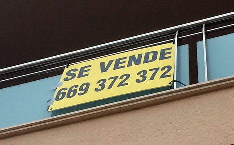 I augusti registrerades drygt 41 000 fastighetsaffärer i Spanien.