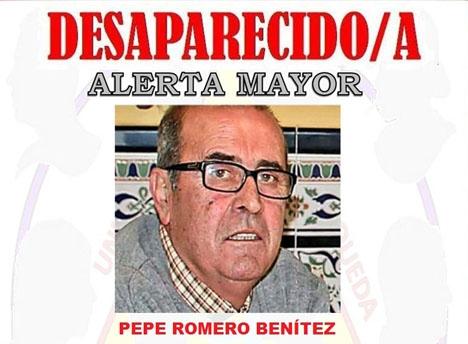 Trots efterlysning och sökpådrag dröjde det sex veckor innan kroppen efter José Romero Benítez hittades vid berget Calamorro.