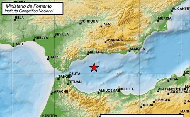 Skalvet inträffade 3 november nära den sydspanska kusten.