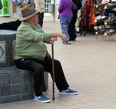 Genomsnittspensionen i Spanien ligger i dagsläget på 925 euro i månaden.