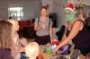 Julen kan vara lite läskig också ibland, speciellt om man sminkar sig som