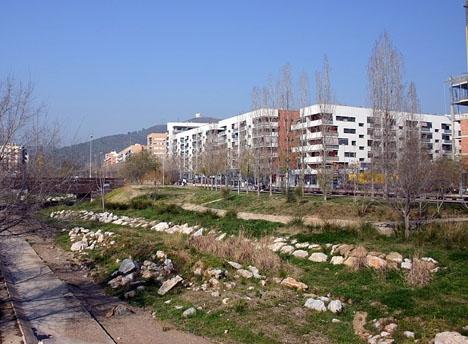Explosionen inträffade i det katalanska samhället Viladecans. Foto: By/Por: Yearofthedragon/Wikimediacommons