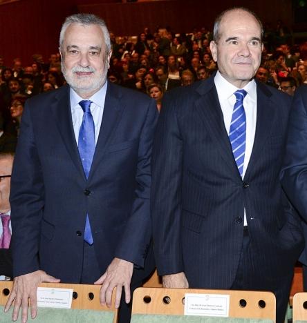 De två tidigare regionalpresidenterna José Antonio Griñán och Manuel Chaves står inför rätta.