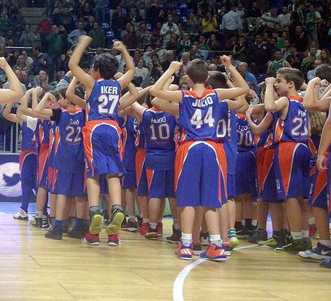 Ungdomsbasketen har vunnit en viktig seger i Málaga.