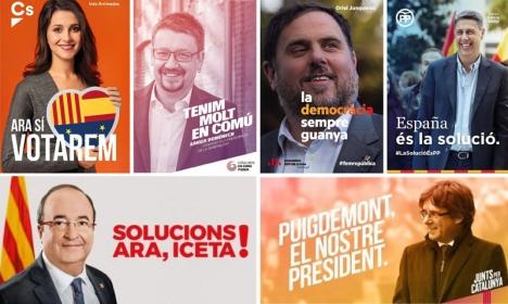 Valdeltagandet väntas bli rekordhögt i Katalonien och resultatet är högst ovisst in i det sista.