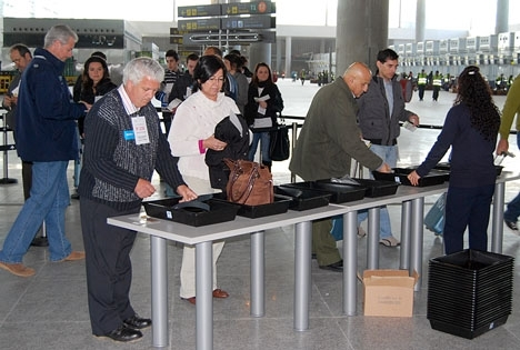 Omfattande flygstrejker i spanien