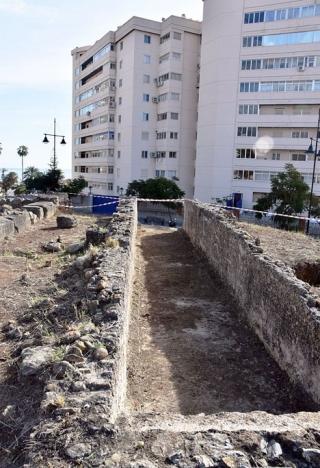 Den arkeologiska fyndplatsen vid Torreblanca del Sol. Foto: Ayto de Fuengirola