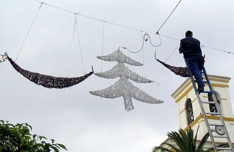 Julvädret ser ut att bli ostadigt på Costa del Sol i år.