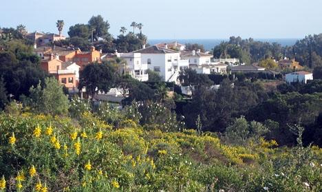 Området Elviria, i östra Marbella.