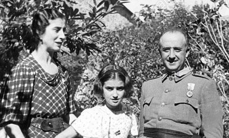 Carmen Franco blev 91 år. Foto: Archivo Nacional