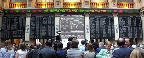 Madridbörsen steg 2017 med 7,4 procent.