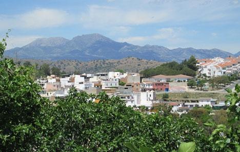 Bråket inträffade i kvarteret La Fuensanta i Coín. Foto: Tyk/Wikimedia Commons