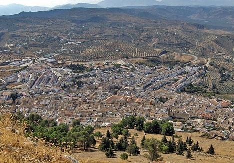 Inkvarteringen av flyktingar i ett ofärdigt fängelse i Archidona är föremål för stor kontrovers.  Foto: Tyk/Wikimedia Commons