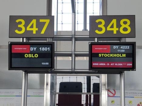 Inga resenärer ökade så mycket förra året vid Málaga flygplats som svenskarna.