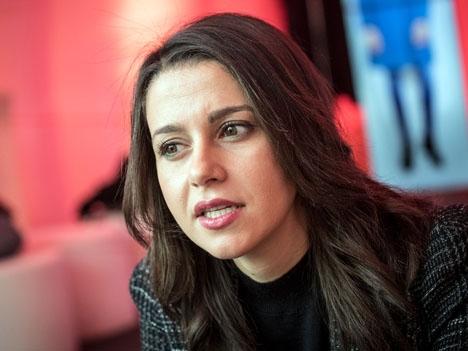 Inés Arrimadas är ledare för Ciudadanos i Katalonien. Foto: Sandra Lázaro/El Diario.es/Wikimedia Commons