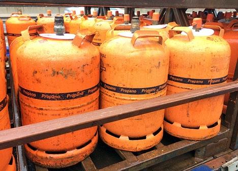 Bedrägeriet med falska gaskontroller är utbrett.