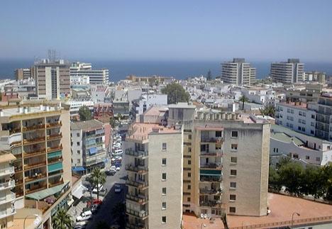 Dramat inträffade i ett tiovåningshus i Torremolinos.