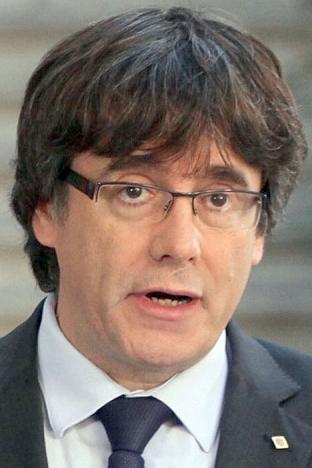 Carles Puigdemont fick det hett om öronen i Köpenhamns universitet. Foto: Generalitat de Catalunya