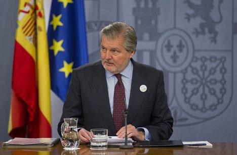 Spaniens kultur- och idrottsminister Íñigo Méndez de Vigo.