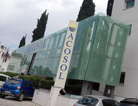 Acosol är vattenbolaget som sköter distributionen på västra Costa del Sol.