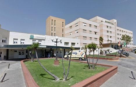 Akutmottagningen vid sjukhuset i La Linea de la Concepción. Foto: Google Maps