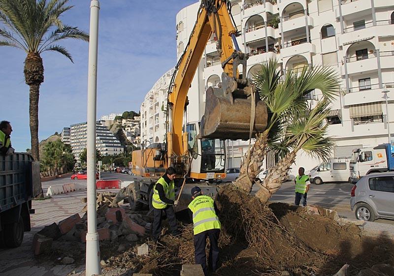Det är bara elva år sedan den nuvarande strandpromenaden i Almuñécar blev klar.