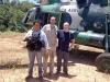 För att  kartlägga  narkotika- ligornas gruvaffärer fick Univisión bland annat ta sig till djupaste Amazonas. Foto: Privat