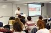 Tomás Ocaña Urwitz har två universitetstitlar och undervisar nu själv deltid på universitetet Juan Carlos I, i Madrid. Foto: Privat