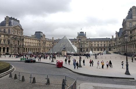Gripandet skedde i Paris.