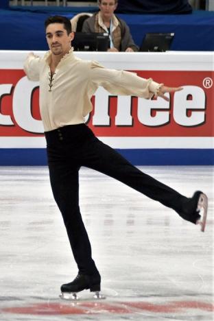 Efter att ha vunnit fem raka EM-titlar har Javier Fernández från Madrid knipit sin första OS-medalj. Foto: Luu/Wikimedia Commons