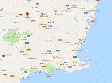 Det kraftigaste skalvet kunde bland annat kännas i Murcia stad.