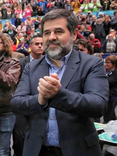 Jordi Sánchez är häktad sedan oktober för att ha uppmanat sina anhängare att sabotera en polisttillslag i Barcelona. Foto: Generalitat de Catalunya/Wikimedia Commons