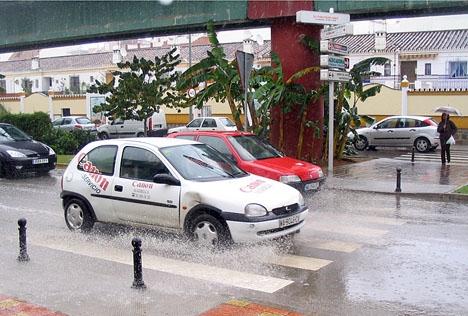 Regnet på Costa del Sol har varit både utdraget och omfattande.