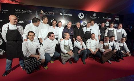 För tredje året i rad samlas mästerkockar i Marbella, i regi av Dani García.