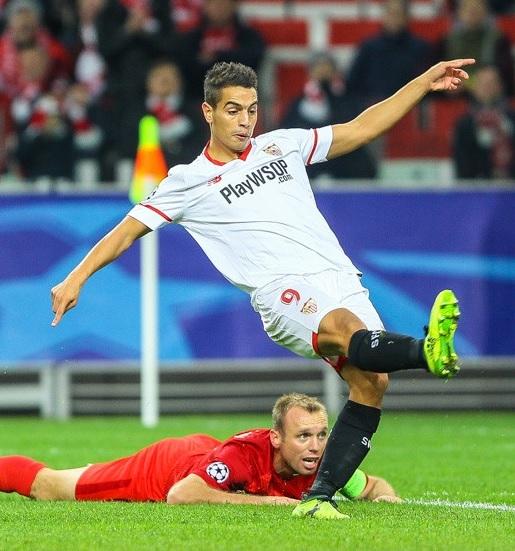 Ben Yedder gjorde Sevillas båda mål så snart han kom in på planen.