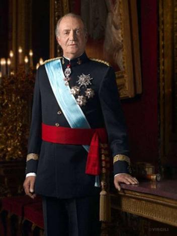 Europadomstolen prickar Spanien för att ha dömt två katalanska ungdomar som brände ett porträtt av kung Juan Carlos. Foto: Casa del Rey