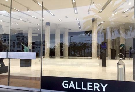 Galleriet i Puerto Banús, som invigdes med stor pompa och ståt för exakt ett år sedan, står i dagsläget närmast tomt.