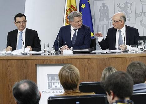 Presskonferensen efter att ministerrådet antagit budgetpropositionen för i år.