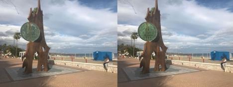 Ett fotomontage brukades för att göra om pesetasmonumentet i Fuengirola till en påstådd hyllning till den svenska kronan.