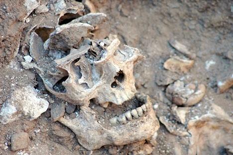 Sydkusten har tidigare besökt utgrävningarna av massgravarna i Málaga.