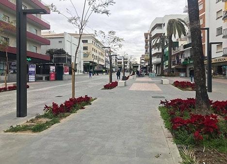 Omröstningen skulle avgöra om huvudgatan Marqués del Duero blir uteslutande en gågata.