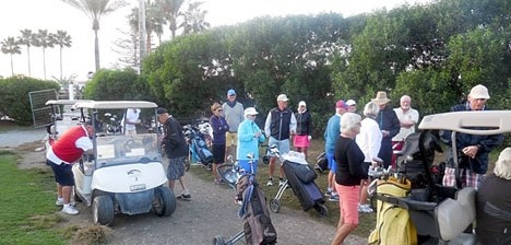Los Moriscos är den enda golfbanan vid Granadakusten och här spelar bland andra skandinaver från Almuñécar. Foto: Los Nórdicos