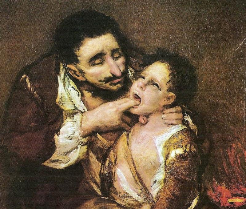 El Lazarillo de Tormes, skildrad av målaren Francisco de Goya.
