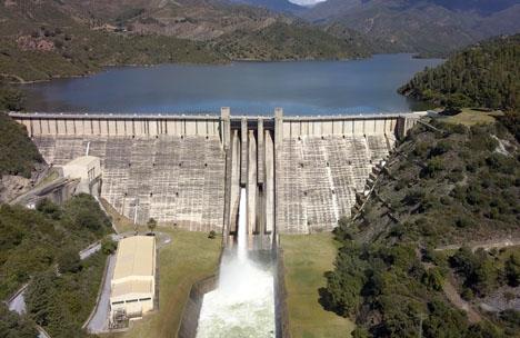 Dammluckorna vid La Concepción har öppnats fyra gånger de senaste veckorna.