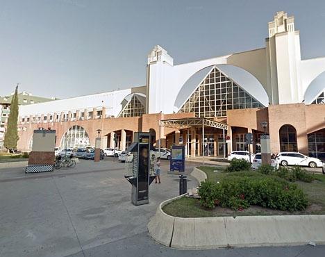Den misstänkte förövaren greps vid busstationen i Málaga. Foto: Google Maps